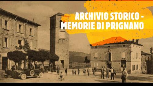 Archivio Storico - Memorie di Prignano